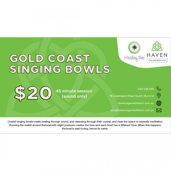 Gold Coast Singing Bowls Offer Image
